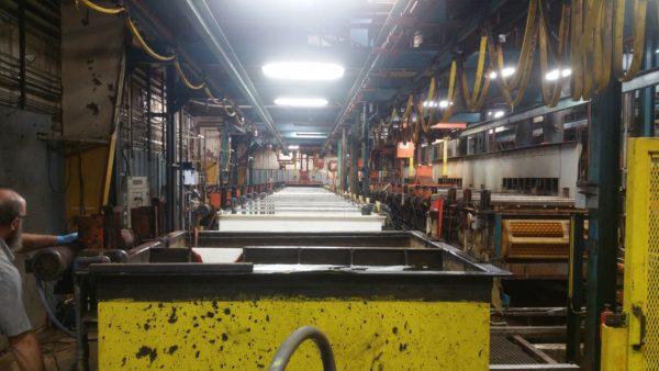 2 – 40′ Zinc Plating Tanks Dry Ice Blast, Remove Old Steel PVC & Install New Co-Polypropylene (4)