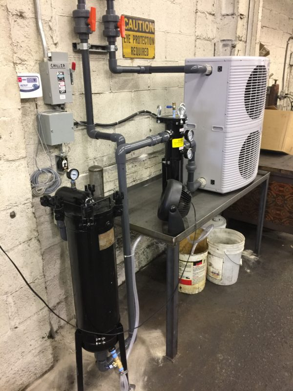 Process Chiller With Bag Filtration