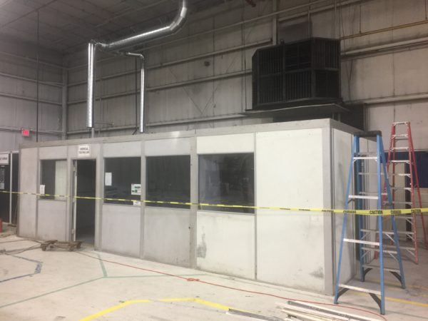 Relocate and Modify Plant Office into Lab Area with Salt Spray Room (3)