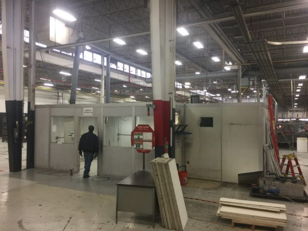 Relocate and Modify Plant Office into Lab Area with Salt Spray Room (5)