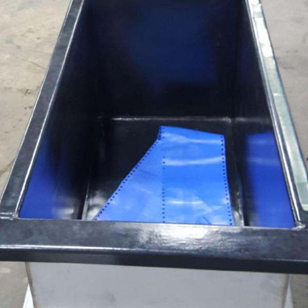 Stainless Tank with Bonded PVC and PTFE Skirt